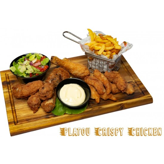 Platou crispy chicken