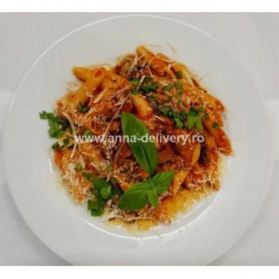 Penne / Spaghete cu ciuperci