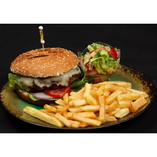 Cheeseburger de vita angus